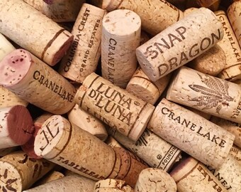 30 used wine corks for crafting jewelry projects craft supply bulk lot