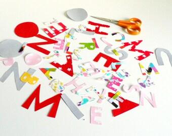 Option personnalisation avec le prénom pour les articles personnalisables Prix pour une lettre