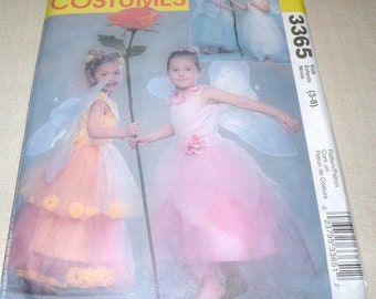 Uncut FLOWER FAIRY Costume McCalls 3365