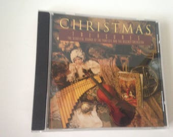 Vintage CHRISTMAS TREASURE CD The Beautiful Sounds of Panflute & Regency Orchestra Music 1994