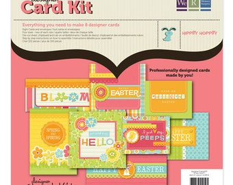 CLEARANCE SALE! We R Memory Keepers Hippity Hoppity Designer Card Kit SC004028