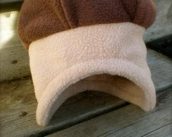 Fleece Acorn Hat - baby