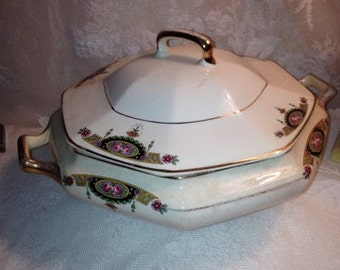 Rare Albright China Serving Dish 1930's