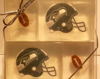 Seattle Seahawks soaps for adult/kid party favors, stocking stuffers or holiday gifts