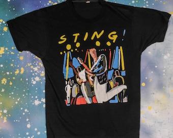STING Police Rock Shirt Size L