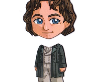 Mix and Match Magnets: Eighth Doctor (Doctor Who)