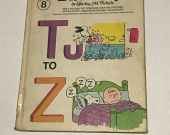 Charlie Browne Dictionary volume  book,8,1973 charles m schultz