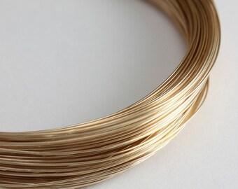 Gold Filled Wire 26 gauge 26g Dead Soft - 3 Feet