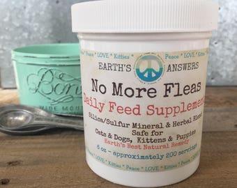 Dog, Cat, Kitten, Puppy Flea and Tick Flea Feed Supplement, Deworming Flea Control, Flea Remedy, Flea Preventative