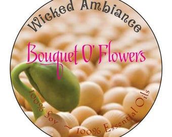 Fleurs bouquet O
