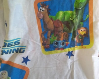 Disney Pixar Toy Story twin flat sheet to repurpose