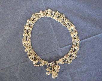 Anklet silver pendants (6)