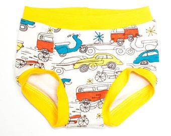 Retro Briefs | Brief-Cut Underpants | Circa 52 Birch Organic Underwear | Gender Neutral Underwear | Teegy Togs