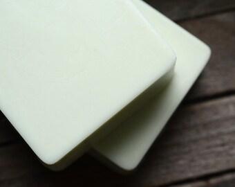 Wasabi Soap - savon à la main le beurre de karité, gingembre, Eucalyptus, citron vert