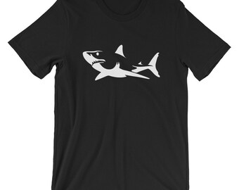 Great White Shark T-shirt Animal Lover Tee