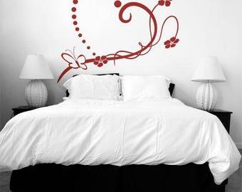 Wall sticker Lovely heart (013n)