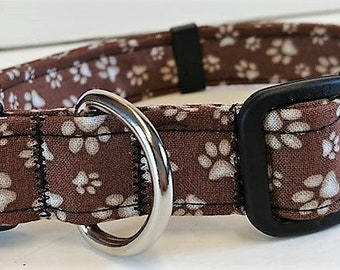 Tan Paw collar by Doodlebug Duds