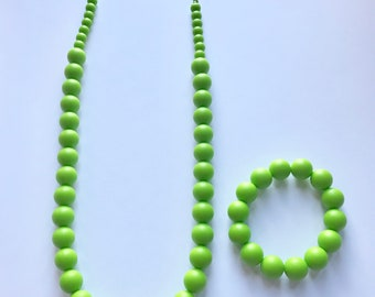 Sale- Green Pearl Style Set