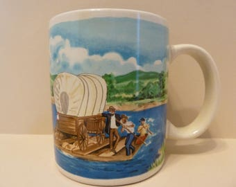 Coffee Mug, Pioneer Ways, by: Otagari, Advantage Collection