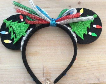 Christmas themed Disney/Mickey/Minnie ears