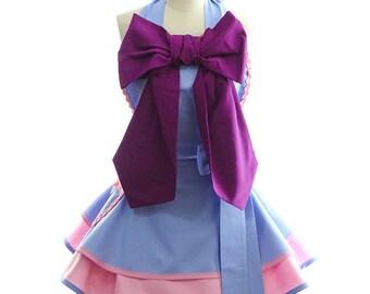 Retro Apron - Cinderella Apron - Cinderella's Fairy Godmother Womans Aprons - Vintage Apron Style - Pin up Halloween Rockabilly Cosplay