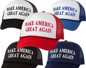 Donald Trump for President 2016 Make America Great Again Trucker Foam Mesh Hat