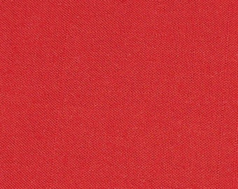 2 Yards Red Cotton Fabric~Soft Medium Weight Yardage