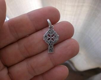 Celtic cross silver