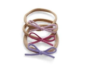 Dainty Bows - Shades of Purples