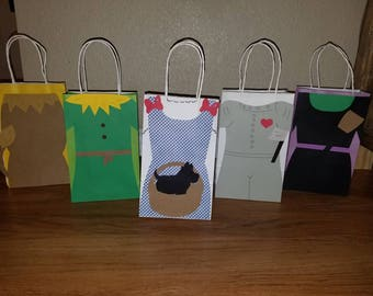 10 inspired Wizard of Oz Party Bags
