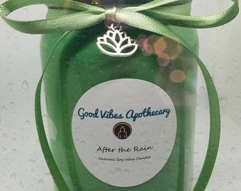After the Rain~16 oz. Handmade Soy Candle