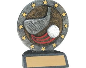 Golf trophy / Golf award / Golf tournament / Golf Decor / Golf Gift / Tournament Award / Tournament Trophy / Tournament Gift