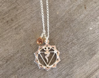 Manipura chakra - bracelet - necklace - third chakra necklace - yoga jewelry - solar pexus chakra