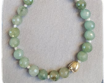 Water green Aventurine with beads
