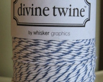 Divine Twine Blueberry  Bakers Twine 1 Full Spool  240 Yards Made in USA