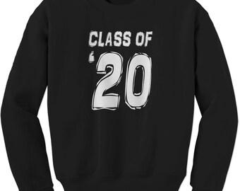 Class of 2020 Graduation Adult Crewneck Sweatshirt
