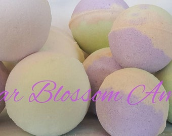 Pear Blossom and Amber Bath Bombs