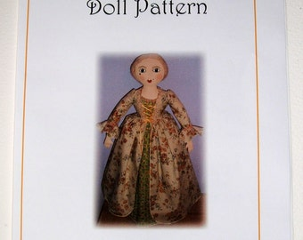 Queen Anne Doll E-Pattern PDF