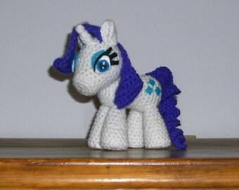 Rarity Crochet Plush