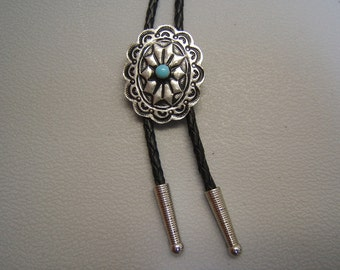 Father's Day Gift! On Sale! Free Shipping*! BOLO TIES, Concho Bolo Tie, Bolo, Men, Women, Necklaces, pewter, asst. enamel colors, #80300