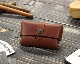 Custom Leather Card Holder, Leather Card Case, Wallet Minimalist Wallet, Leather Card Wallet, Wallet Credit Card, Leather Credit Card Holder