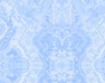 Blue Flannel Fabric - Comfy Blender - A.E. Nathan
