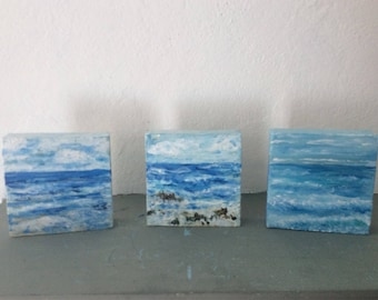 Triptych Sea and Sky