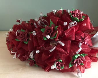 Maroon bouquet
