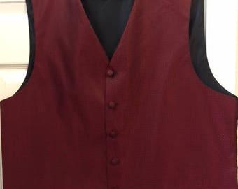 Gentleman's red vest