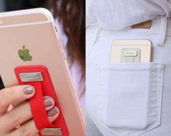 The Graspy Secure Universal Smartphone Tablet Grip Holder