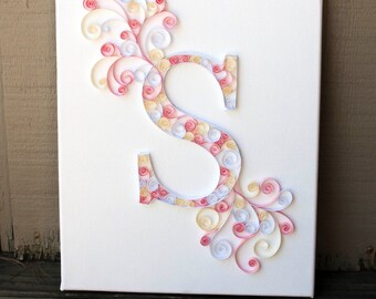 Paper Quilled Letter 11x14
