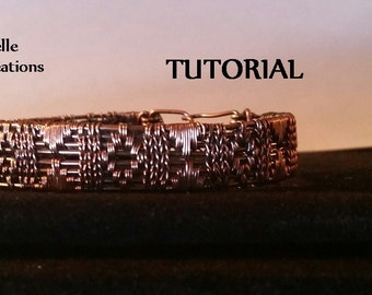 TUTORIAL - Sampler Wire Weave Bracelet
