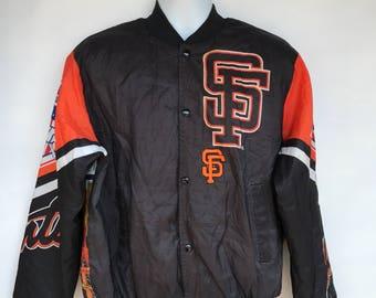 Vintage chalk line SF giants MLB 89 jacket