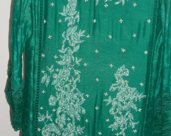 sea green suit